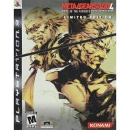 Konami Metal Gear Solid 4: Guns of the Patriots Limited Edition