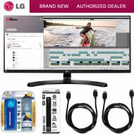 LG 21:9 QHD IPS 34 Monitor (34UM88C) with Xtreme Performance TVLCD Screen Cleaning Kit, Xtreme 6 Outlet Power Strip & 2x General Brand HDMI to HDMI Cable 6
