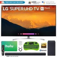 LG 55SK9000PUA 55-Class 4K HDR Smart LED AI Super UHD TV w/ThinQ + LG SK8Y 2.1-Channel Hi-Res Audio Soundbar w/Dolby Atmos + Free Hulu $100 Gift Card Bundle