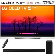 LG OLED65E8PUA 65 Class E8 OLED 4K HDR AI Smart TV (2018 Model) with Samsung HW-M360ZA 200W 2.1ch Soundbar wWireless Subwoofer