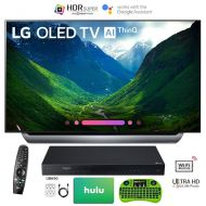 LG OLED65C8P 65 C8 OLED 4K HDR AI Smart TV (2018 Model) with Bonus Hulu $100 Gift Card UBK90 UHD Blu-Ray Player Wireless Remote Keyboard and More - OLED65C8