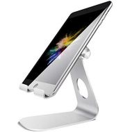Tablet Stand Adjustable, Lamicall Tablet Stand : Desktop Stand Holder Dock Compatible with Tablet Such as iPad 2018 Pro 9.7, 10.5, Air Mini 4 3 2, Kindle, Nexus, Tab, E-Reader (4-1
