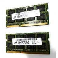 Micron 4GB 2 x 2GB PC3-8500S DDR3 1066 Laptop Notebook Memory Kit Lenovo 55Y3713