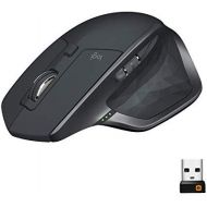 Logitech MX Master 2S Wireless Mouse  Use on Any Surface, Hyper-fast Scrolling, Ergonomic Shape, Rechargeable, Control up to 3 Apple Mac and Windows Computers (Bluetooth or USB),