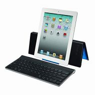 Logitech Keyboard and Stand Combo for iPad, iPad 2, iPad (3rd/4th Generation), and iPad Mini - Bulk Packaging - Black