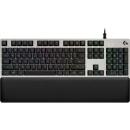 Bestbuy Logitech - G513 Silver RGB Wired Gaming Mechanical Romer-G Tactile Switch Keyboard - Silver