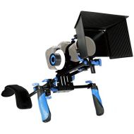MARSRE DSLR Shoulder Rig Film Making Kit with Follow Focus and Matte Box for All DSLR Video Cameras and DV Camcorders