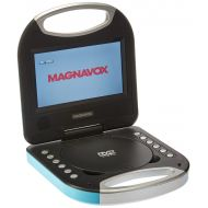 Magnavox MTFT750-BL Blue 7 Inch Portable DVD Player With Remote Control, And Car Adapter, TFT Screen, CD Player