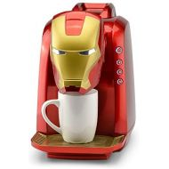 Marvel MVA-802 Iron Man Single Serve Coffee Maker, RedGold