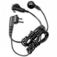 Motorola HMN8435A two wire earbud with clip microphone and PTT for BPR40, CP100, CP125, CP150, CP185, CP200, CT150, CT250, CT450, CT450LS, DTR Series, GP2000, GP350 (requires a Mot