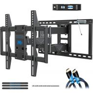 Mounting Dream Full Motion TV Mount UL Listed TV Wall Mount Bracket for 42-75 Inch TVs, Premium Wall Mount TV Bracket, Fits 16, 18, 24 inch Studs with Articulating Arm, VESA 600x40