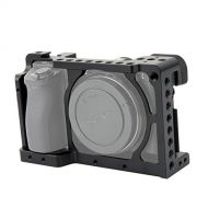 NICEYRIG A6100 A6300 A6400 A6000 Camera Cage with 1/4 Thread and Cold Shoe - 083