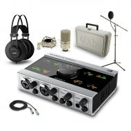 Native Instruments},description:Complete, or should we say KOMPLETE interface, headphone and microphone package. This collection of gear puts together quality products with quality