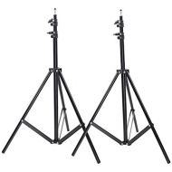 Neewer 2 Packs 9 feet260 centimeters Photo Studio Light Stands for HTC Vive VR, Video, Portrait, and Product Photography