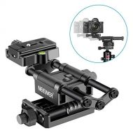 Neewer Pro 4-Way Macro Focusing Focus Rail SliderClose-Up Shooting for Canon Nikon, Pentax, Olympus, Sony, Samsung and Other Digital SLR Camera and DC with Standard 14-Inch Screw