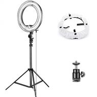 Neewer Camera Photo Studio YouTube Vine Video Lightning Kit: 14 inches35 centimeters 50W Dimmable Ring Light,75 inches190 centimeters Light Stand, Diffuser Soft Box, Ball Head Ho