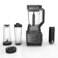 Ninja Smart Screen Duo Technology in Black (CT661V) Countertop Blender with Freshvac, 72 oz,