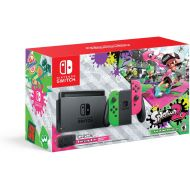 Nintendo Switch Hardware with Splatoon 2 + Neon GreenNeon Pink Joy-Cons