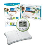 Nintendo Wii Fit U Bundle With Balance Board, Game And Meter