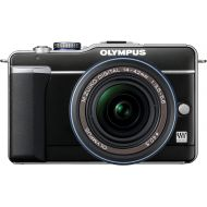 Olympus PEN E-PL1 12.3MP Live MOS Micro Four Thirds Mirrorless Digital Camera with 14-42mm f3.5-5.6 Zuiko Digital Zoom Lens (Black)