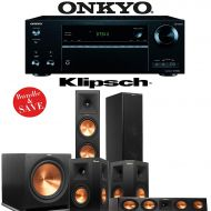 Klipsch RP-280F 5.1 Reference Premiere Home Theater System with Onkyo TX-NR656 7.2-Ch Network AV Receiver
