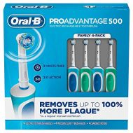 Oral-B ProAdvantage 500 Rechargeable Electric Toothbrush (4-Pack)