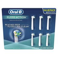Oral B Oral-B Replacement Brush Heads, Floss Action (6 ct.)