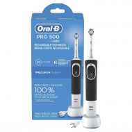 Oral-B Pro 500 Electric Power Rechargeable Toothbrush with Automatic Timer and Precision Clean Brush...