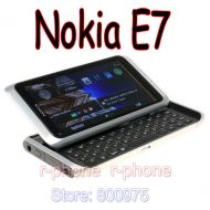 [직배송][추가금없음]Nokia Original NOKIA E7 Mobile Phone Unlocked 3G wifi Smartphone Refurbished Touchscreen