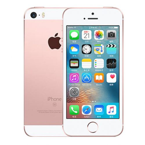 애플 [직배송][추가금없음]APPLE Original Unlocked Apple iPhone SE 2GB RAM 16G32G64GB ROM Mobile Phone A9 iOS 9 Dual Core 4G LTE 4.0'' Fingerprint Smartphone