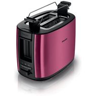 Philips HD2628/092Slot Toaster De-Icing and Warming Function Includes Sandwiches Attachment, 950W Burgundy