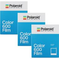3 Pack Polaroid Originals 4670 Instant Color Film for 600 Type Cameras