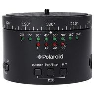 Polaroid Electronic Panorama Ball Head for GoPros, Smartphones, Digital Cameras & DSLRs  Adapters Included