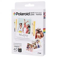 Polaroid 3.5 x 4.25 inch Premium ZINK Border Print Photo Paper (40 Sheets) - Compatible with Polaroid POP Instant Camera