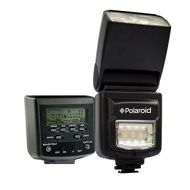 Polaroid olaroid PL-160DC Studio Series Digital Power Zoom TTL Shoe Mount AF Dua Flash With LCD Display + Built In LED Video Light For The Canon Digital EOS Rebel T4i (650D), T3 (1100D), T3