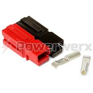 Powerwerx WP15-100 15 Amp Permanently Bonded RedBlack Anderson Powerpole Connectors - 100 Sets