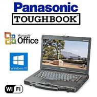 Quality Panasonic Toughbook CF-31 Rugged Laptop - Refurbished Panasonic CF-53 Toughbook Rugged Laptop - 14 Touchscreen - Core i5 (Turbo Boost up to 3.2GHz) New Huge 1TB Solid State Drive - 16GB RAM - Windows 10 Pro + MS Office - W