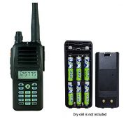 REXON Rexon Air Band Handheld Radio Transceiver RHP-530 LITE with VOR and Battery CaseHolder