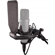 Rode Microphones},description:The SMR is a revolutionary shock mount for large diaphragm condenser microphones from RDE. Featuring a unique double-Lyre suspension system, the SMR
