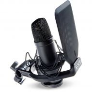 Rode Microphones},description:This special package includes everything you need in a go-to studio vocal mic. It includes the Rode NT1 microphone as well as a specially designed sho