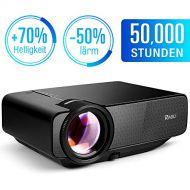Ragu RAGU Z400 Mini Projector Portable Home Entertainment LED Projector 800x480 Resolution Supports Full HD 1080P for PC Laptop PS4 XBOX Smartphone Android iPhone TV Box Black