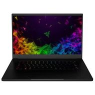 Razer Blade 15 Gaming Laptop: Intel Core i7-8750H 6 Core, NVIDIA GeForce RTX 2080 Max-Q, 15.6 FHD 144Hz, 16GB RAM, 512GB SSD, CNC Aluminum, Chroma RGB Lighting, Thunderbolt 3