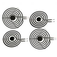 Replacement Part Maytag Stove Element Set 6 and 8 Plug In Range Surface Element 4 Pk