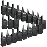 Retevis RT15 Walkie Talkies Rechargeable with Charger UHF 16 Channel VOX Scrambler Security 2 Way Radios(20 Pack)
