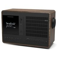 Revo SuperConnect Multi Format Deluxe Table Radio - WalnutBlack