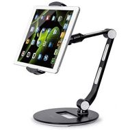 SAALS Tablet Stand for Most Tablets and Smart Phones for Office, Home Office, Kitchen and Living Room