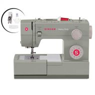 SINGER Singer Heavy Duty 4452 Sewing Machine With Accessories, 32 Built-In Stitches, 60% Stronger Motor, Stainless Steel Bedplate, 48% Faster Stitching Speed & Automatic Needle Threader