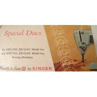 Touch & Sew by Singer Special Discs for Deluxe Zig-Zag Model 600 and Special Zig Zag 603 Sewing Machines