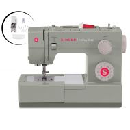 SINGER Singer Heavy Duty 4452 Sewing Machine With Accessories, 32 Built-In Stitches, 60% Stronger Motor, Stainless Steel Bedplate, 48% Faster Stitching Speed & Automatic Needle Threader (