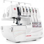 SINGER Singer Professional 5 14T968DC Serger with 2-3-4-5 Threaded Capability, including Cover Stitch, Auto Tension, and Bonus Presser Feet
